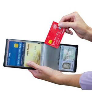Protect your charge cards with an RFID blocking wallet
