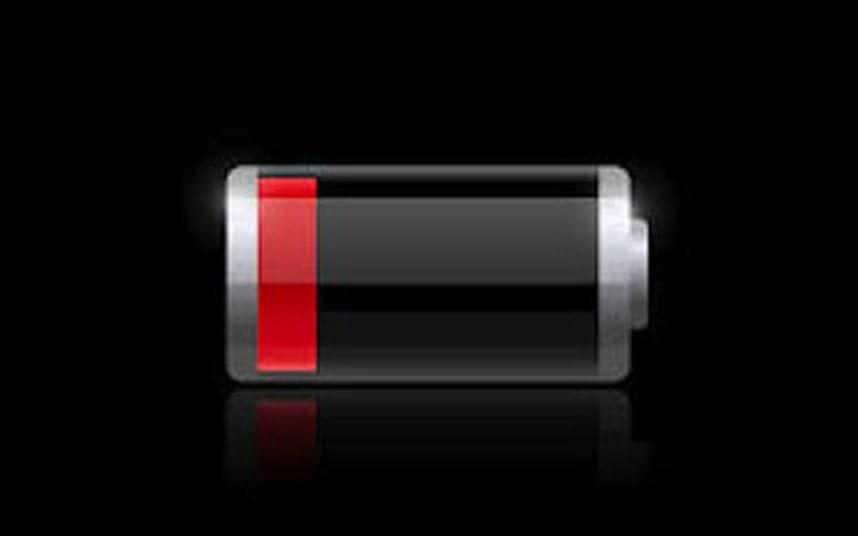 Failing battery